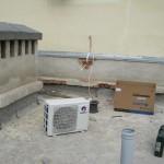 Подготовка к монтажу внешнего блока кондиционера Gree GWH09NA