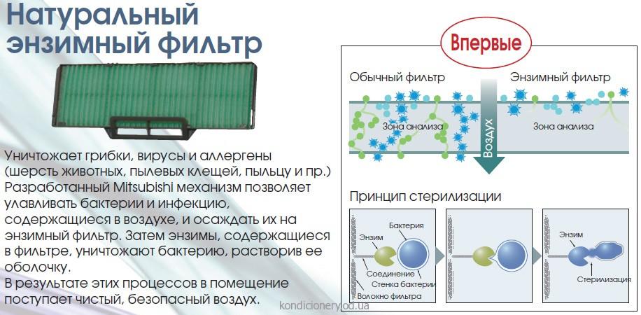 filtr enzim