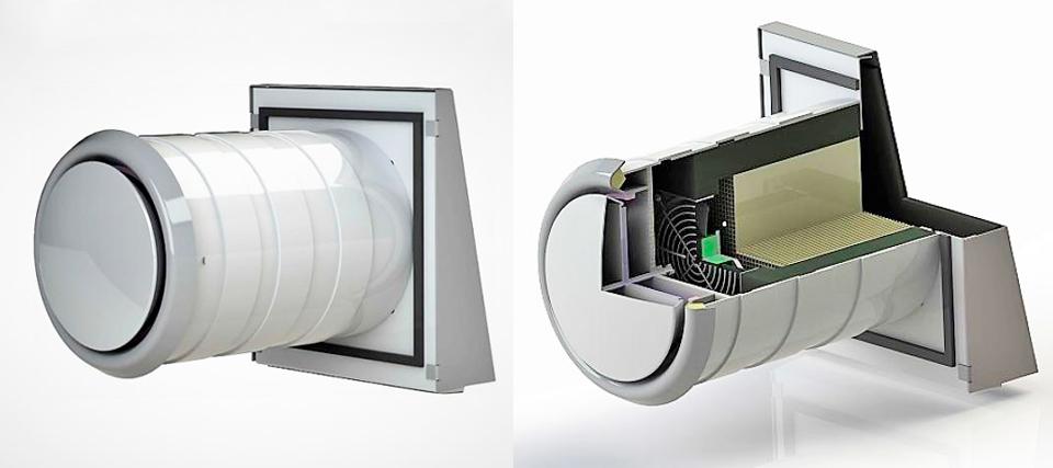 Рекуператор Ventoxx Comfort для автоматического энергосберегающего проветривания домов и квартир